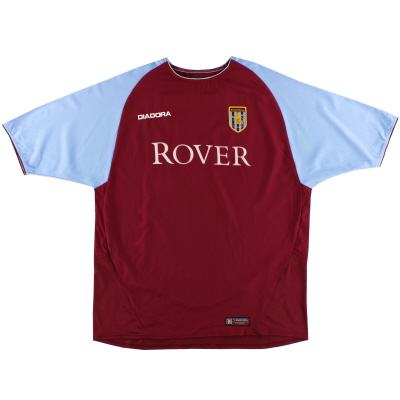 2003-04 Aston Villa Home Shirt XL
