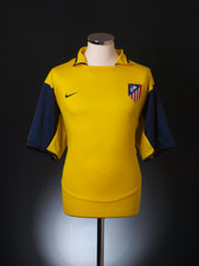 2003-04 Atletico Madrid Away Shirt XL