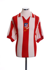 2003-04 Atletico Madrid Centenary Home Shirt L