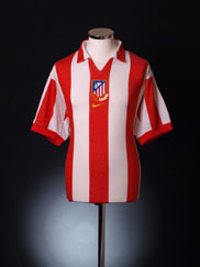2003-04 Atletico Madrid Centenary Home Shirt M