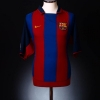 2003-04 Barcelona Home Shirt Larsson #7 XL