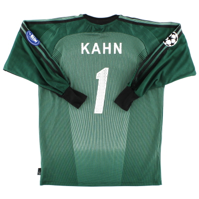 2003-04 Bayern Munich CL Goalkeeper Shirt Kahn #1 S