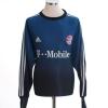 2003-04 Bayern Munich Goalkeeper Shirt Kahn #1 L