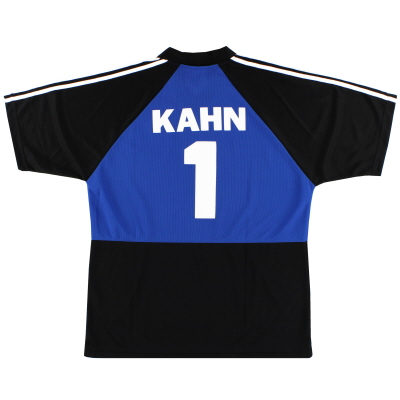 2003-04 Bayern Munich Goalkeeper T-Shirt Kahn #1 XL