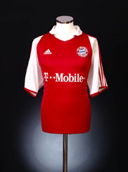 2003-04 Bayern Munich Home Shirt M