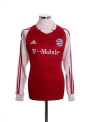 2003-04 Bayern Munich Home Shirt L/S XL