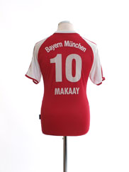 2003-04 Bayern Munich Home Shirt Makaay #10 XL.Boys