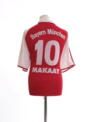 2003-04 Bayern Munich Home Shirt Makaay #10 XL