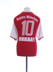 2003-04 Bayern Munich Home Shirt Makaay #10 M