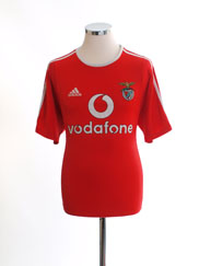 2003-04 Benfica European Home Shirt S