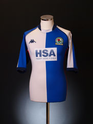 2003-04 Blackburn Home Shirt XL