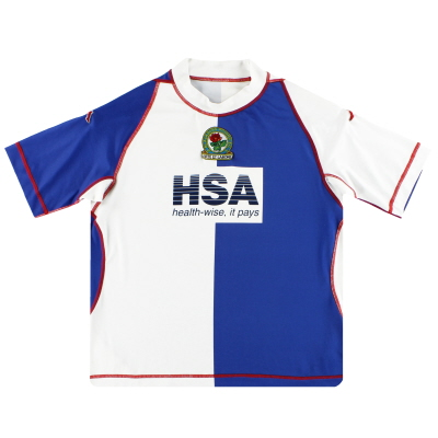 2003-04 Blackburn Rovers Kappa European Home Shirt XXL.Boys