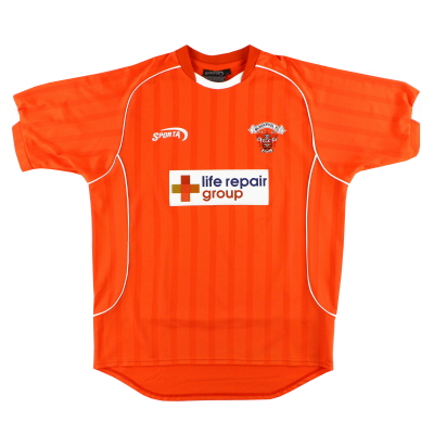 2003-04 Blackpool Sporta Home Shirt L