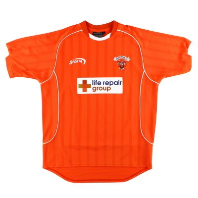 2003-04 Blackpool Sporta Home Shirt L