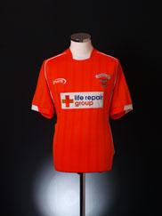 2003-04 Blackpool Home Shirt M