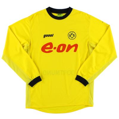 2003-04 Borussia Dortmund Home Shirt L/S S