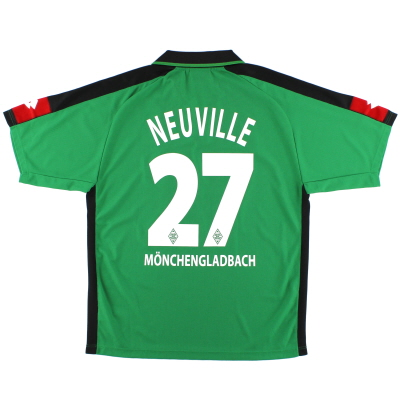 2003-04 Borussia Monchengladbach Away Shirt Neuville #27 XL