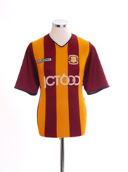 2003-04 Bradford City Centenary Home Shirt M