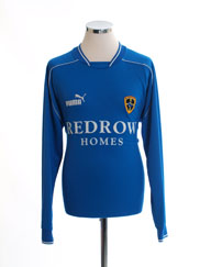 2003-04 Cardiff City Home Shirt L/S L