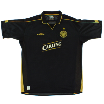 2003-04 Celtic Away Shirt *As New* XL