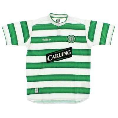2003-04 Celtic Home Shirt XL