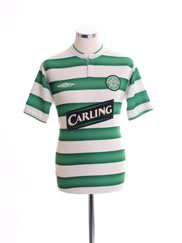 2003-04 Celtic Home Shirt *Mint* L