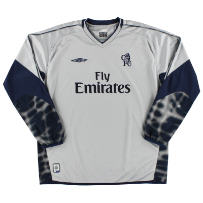 Chelsea  Goalkeeper baju (Original)