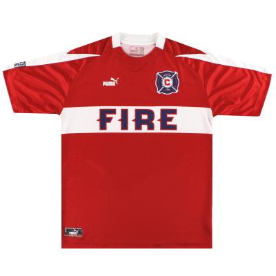 2003-04 Chicago Fire Puma Home Shirt L