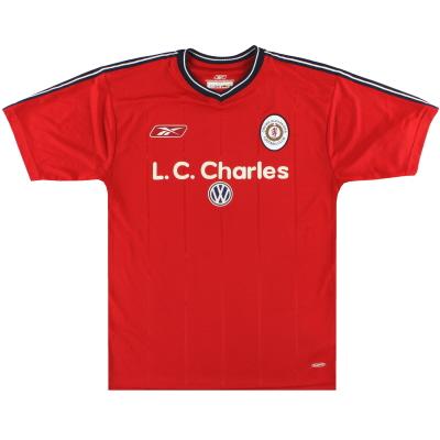 2003-04 Crewe Alexandra Reebok Home Shirt S