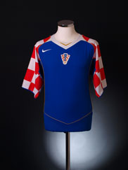 2004-06 Croatia Away Shirt L