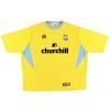 2003-04 Crystal Palace Admiral Away Shirt Freedman #9 XXXL