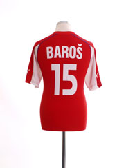 2003-04 Czech Republic Home Shirt Baros #15 L