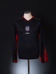 2003-04 England Goalkeeper Shirt M