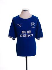 2003-04 Everton Home Shirt L