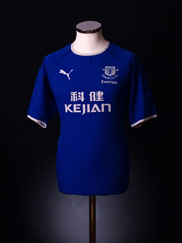 2003-04 Everton Home Shirt S.Boys