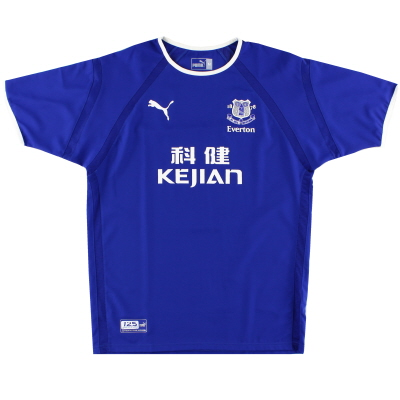 2003-04 Everton Home Shirt XXXL