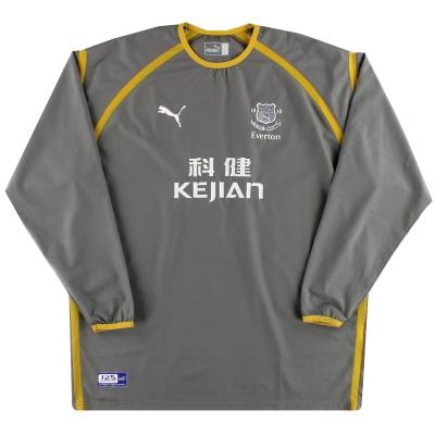 2003-04 Everton Puma Goalkeeper Shirt S.Boys