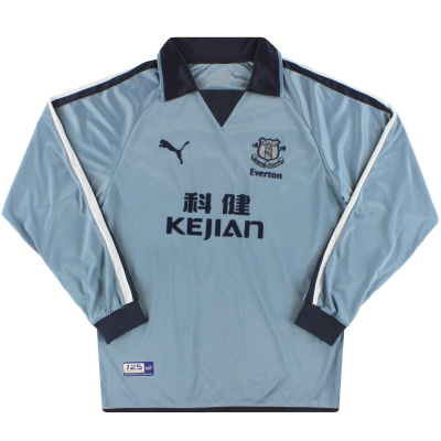 2003-04 Everton Puma Third Shirt L/S M
