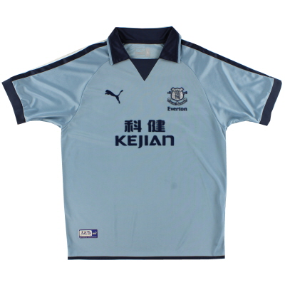 2003-04 Everton Third Shirt L