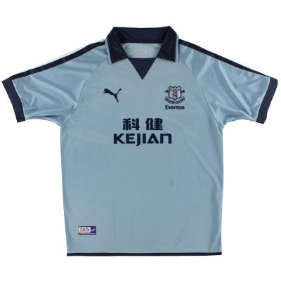 2003-04 Everton Third Shirt L