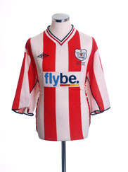 2003-04 Exeter Centenary Home Shirt M