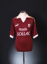 2003-04 FC Metz Home Shirt L