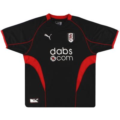 2003-04 Fulham Puma Away Shirt L