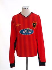 2003-04 Galatasaray Third Shirt L/S *Mint* XL