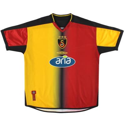 2003-04 Galatasaray Umbro Home Shirt XL.Boys