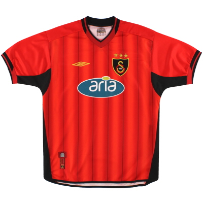 2003-04 Galatasaray Umbro Third Shirt L