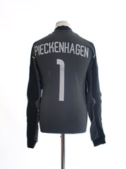 2003-04 Hamburg Goalkeeper Shirt Pieckenhagen #1 L
