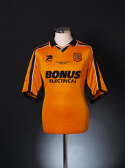 2003-04 Hull City Home Shirt 'Promotion Season' L