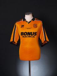 2003-04 Hull City Home Shirt 'Promotion Season' L
