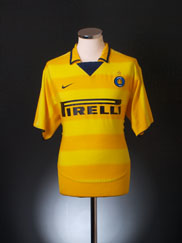 2003-04 Inter Milan Away Shirt XXL